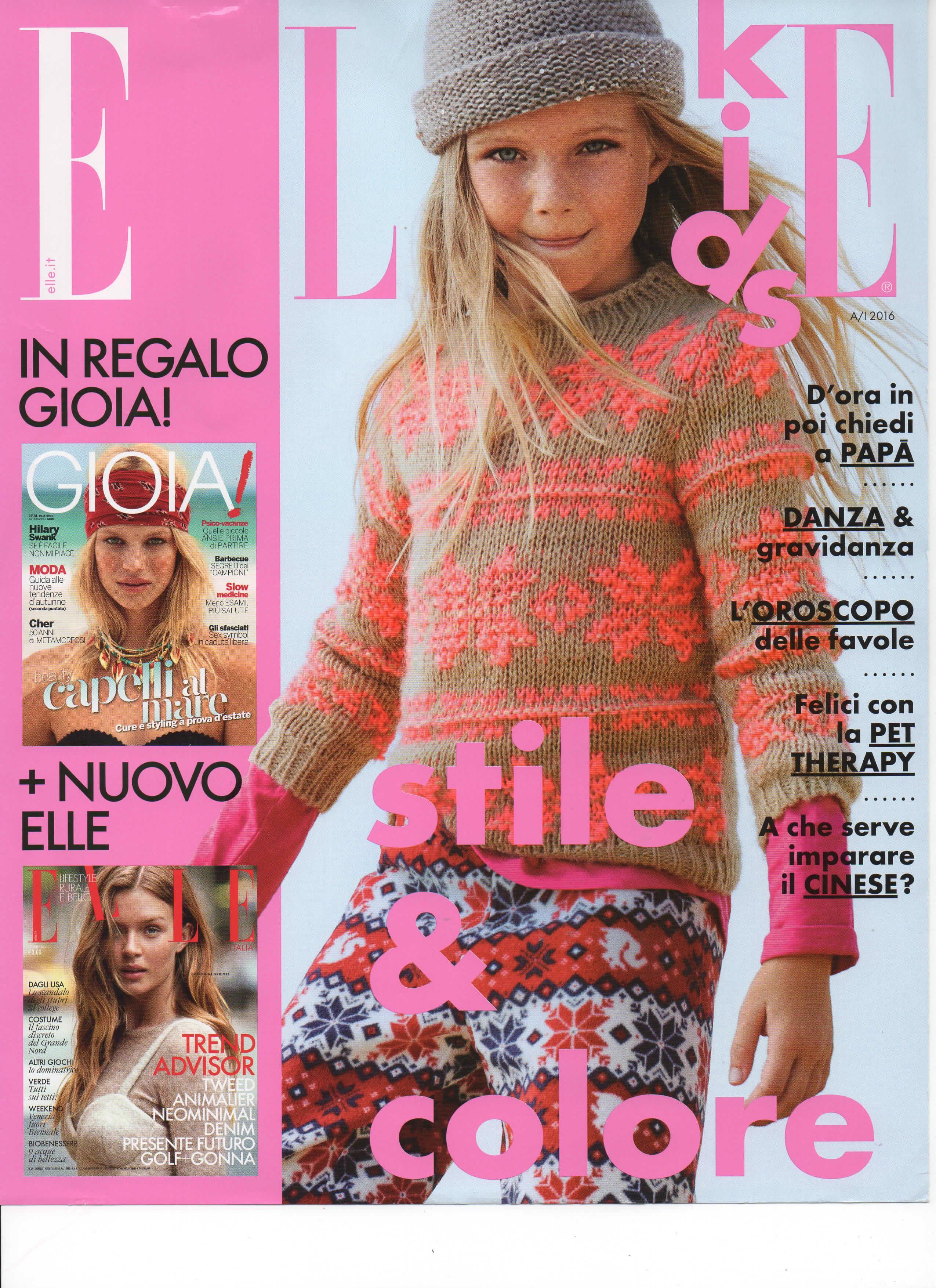 Elle Kids Autunno Inverno 2015-2016